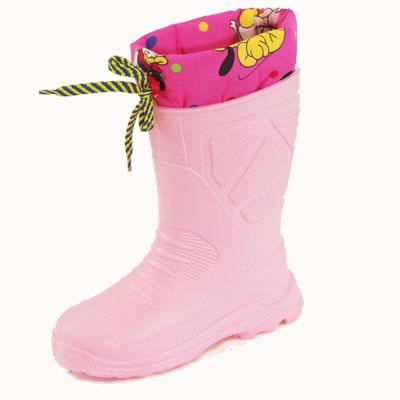 Детская резиновая обувь зимняя - купить сапоги